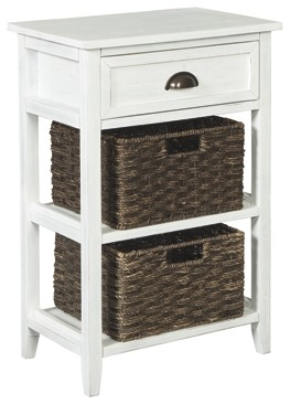 oslember white accent table tables railway and chests small side end office storage cabinets garden parasol stand threshold windham cabinet drum throne with wheels clearance