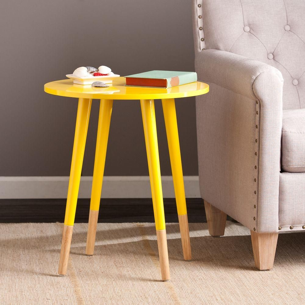 otsego yellow end table accents and products accent mid century modern gas grills glass chest drawers unusual occasional tables hampton bay chair cushions patio furniture for