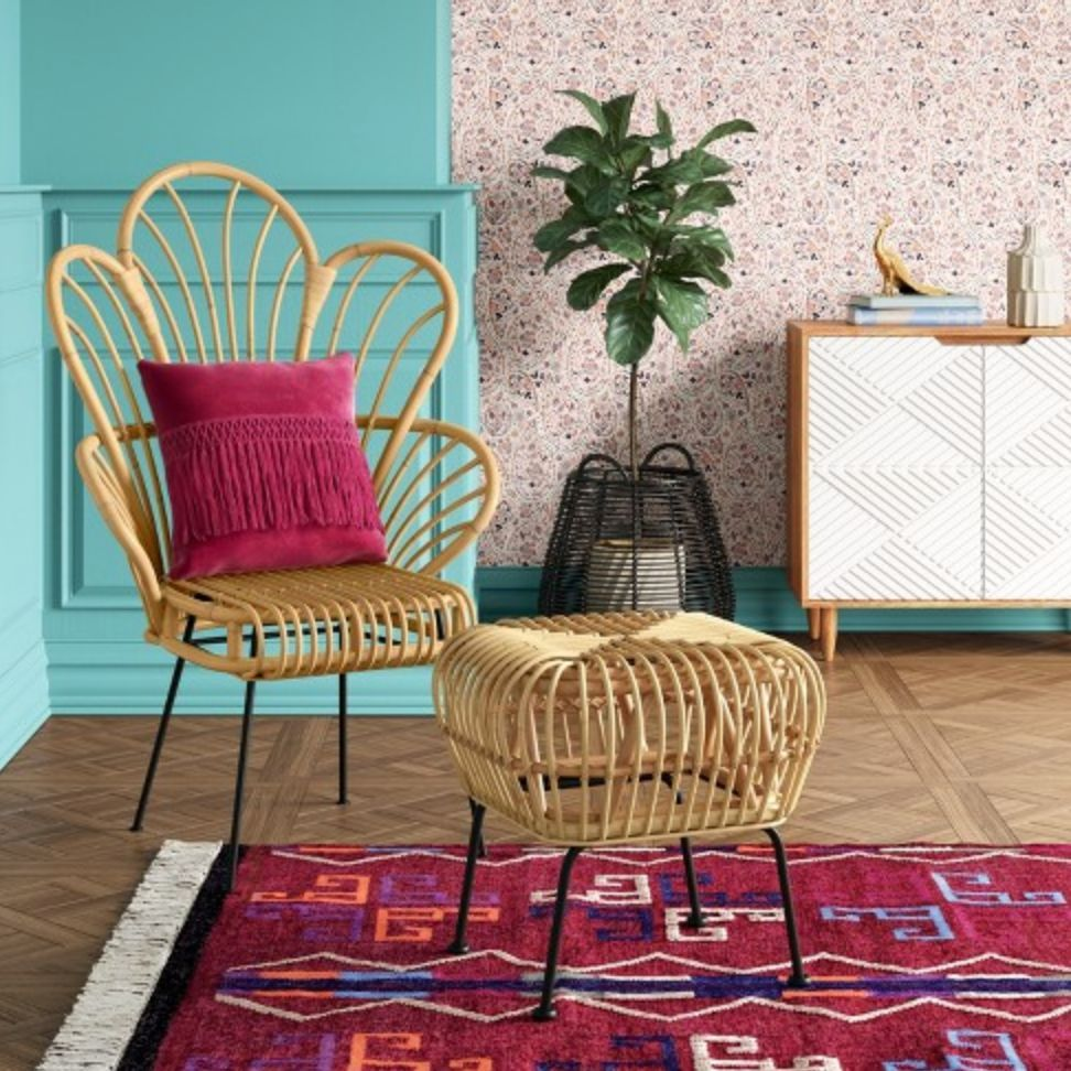our top faves from target boho glam opalhouse collection accent chair side table umbrella base modern battery operated lamps wooden bench seat bunnings small wall clocks center
