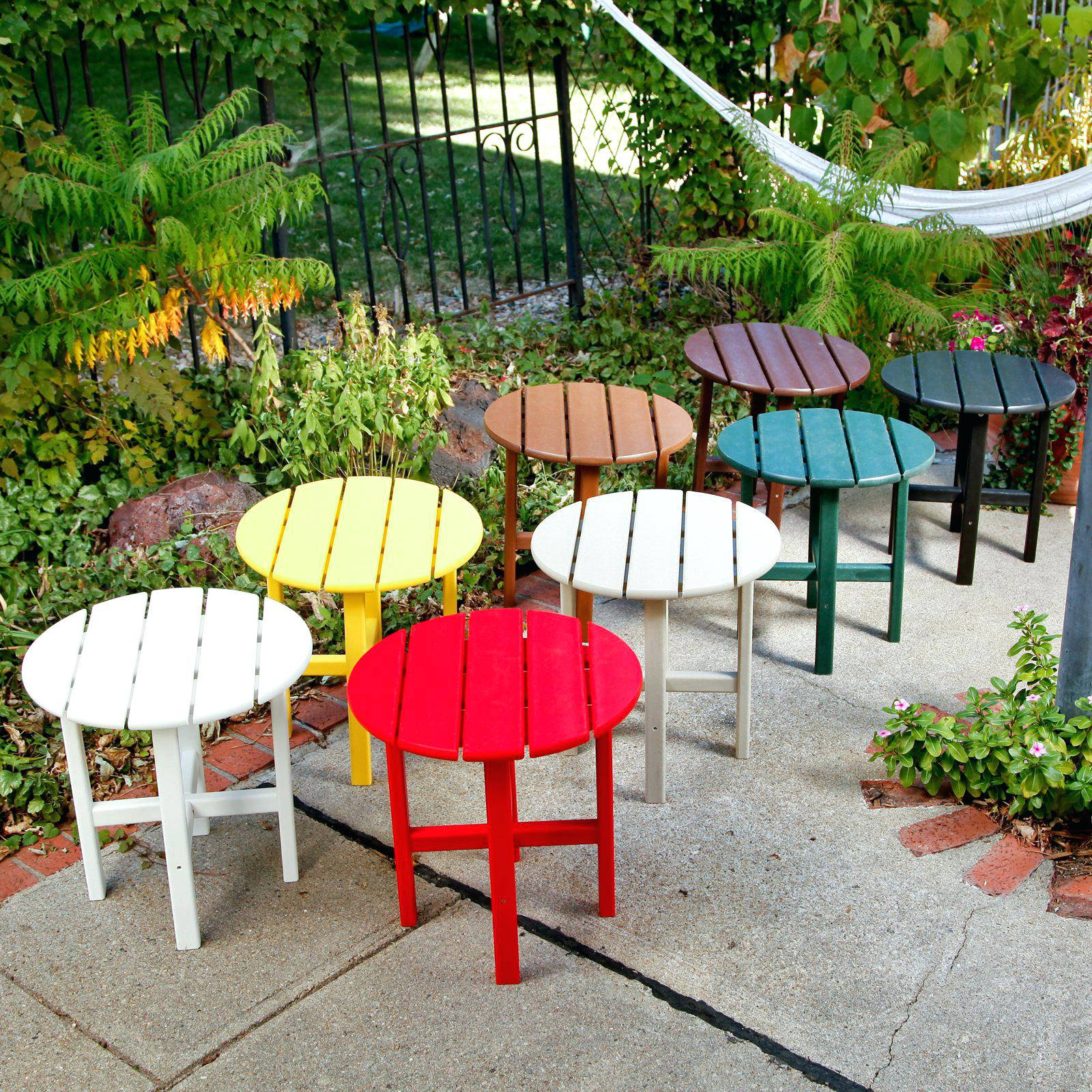 outdoor accent tables clearance large size wood table vineyard recycled plastic round side home decorating magazines metal drawer file cabinet with drawers trestle chairs glass