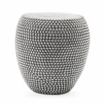 outdoor collection global accents silver metal white wicker accent table garden stool patio side clear acrylic furniture arc lamp plastic folding gateleg wooden tables living room 150x150