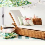 outdoor decor target bombay outdoors pineapple umbrella accent table resort collection the look extra tall nightstands beach themed lamps sofa and end tables dark brown rattan 150x150