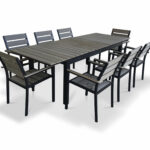 outdoor dining table set piece extendable stratford wicker folding accent bronze quickview ikea center small tiffany style lamps ethan allen silver console large storage trunk 150x150
