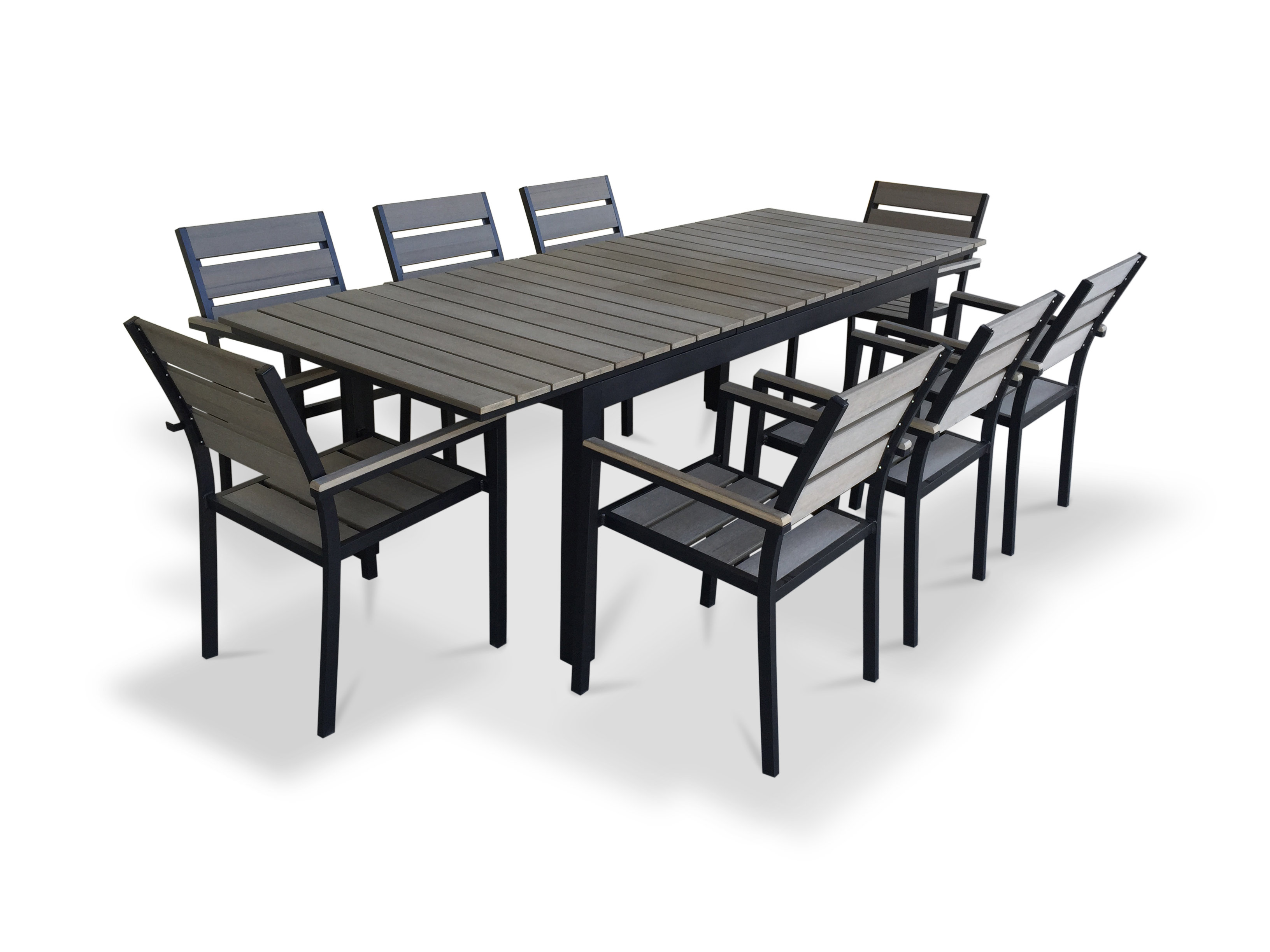 outdoor dining table set piece extendable stratford wicker folding accent bronze quickview ikea center small tiffany style lamps ethan allen silver console large storage trunk