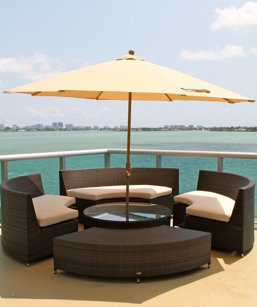 outdoor furniture small table mini patio plastic stacking side tables bistro with parasol hole umbrella round pedestal antique white entry coffee legs nautical tures carsons end