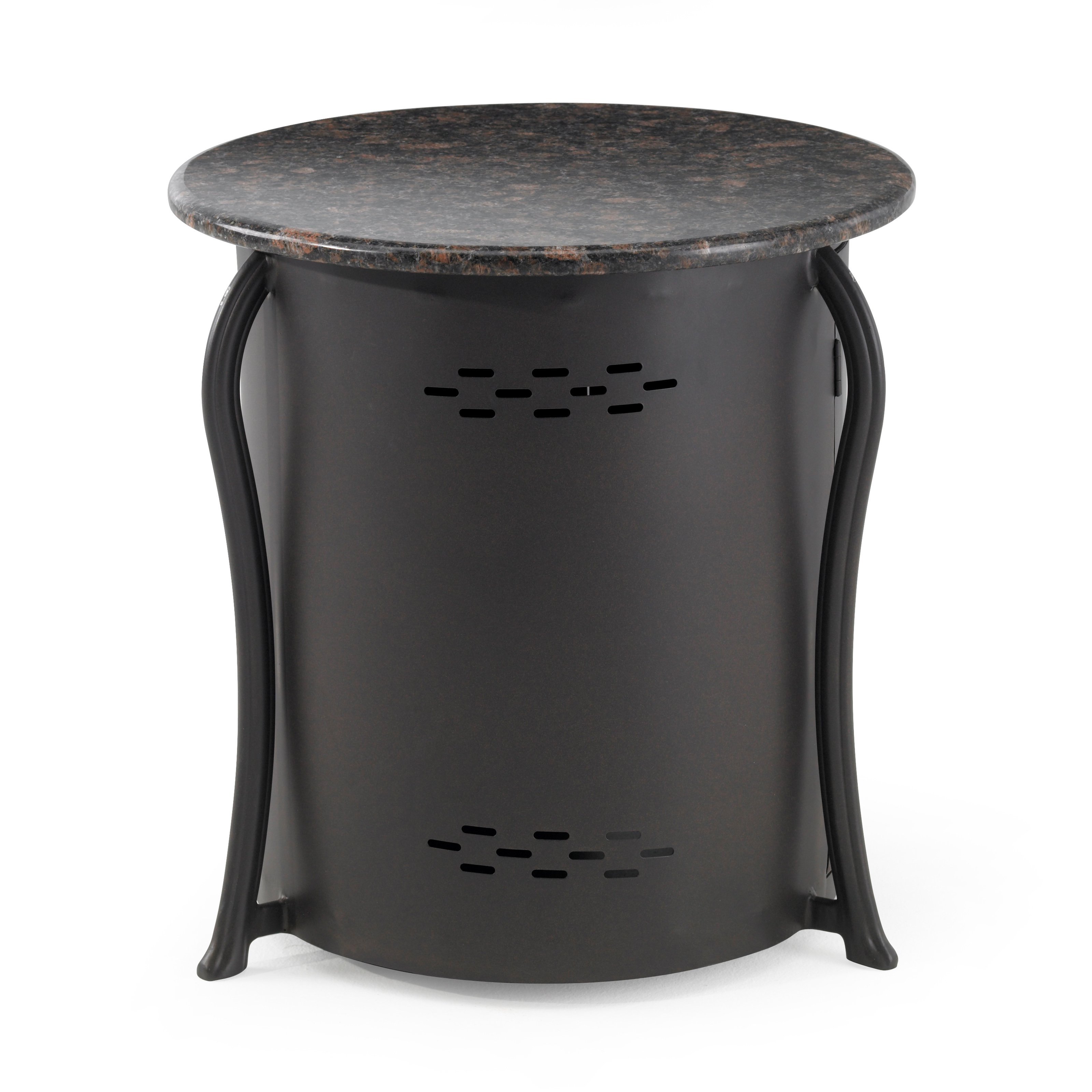 outdoor greatroom propane tank cover and side table with granite top unique foyer tables gold white antique drop leaf value pin leg desk dining room chairs bar set grey patio