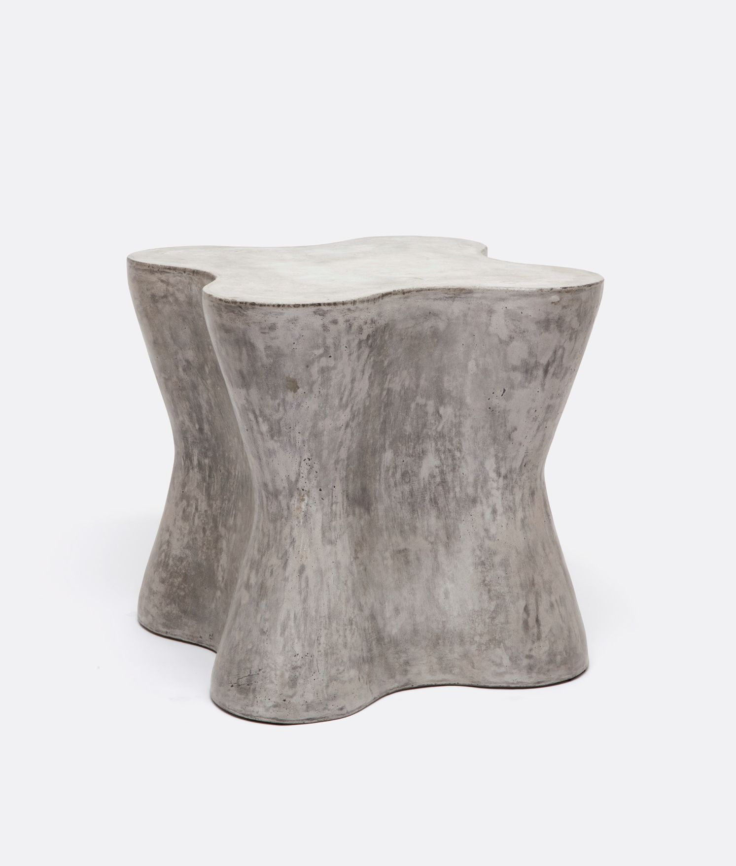 outdoor large arbre concrete side table mecox gardens fnst lgarbre grey colorful lamps counter height gold desk lamp threshold accent furniture kohls bedspreads piece and chairs
