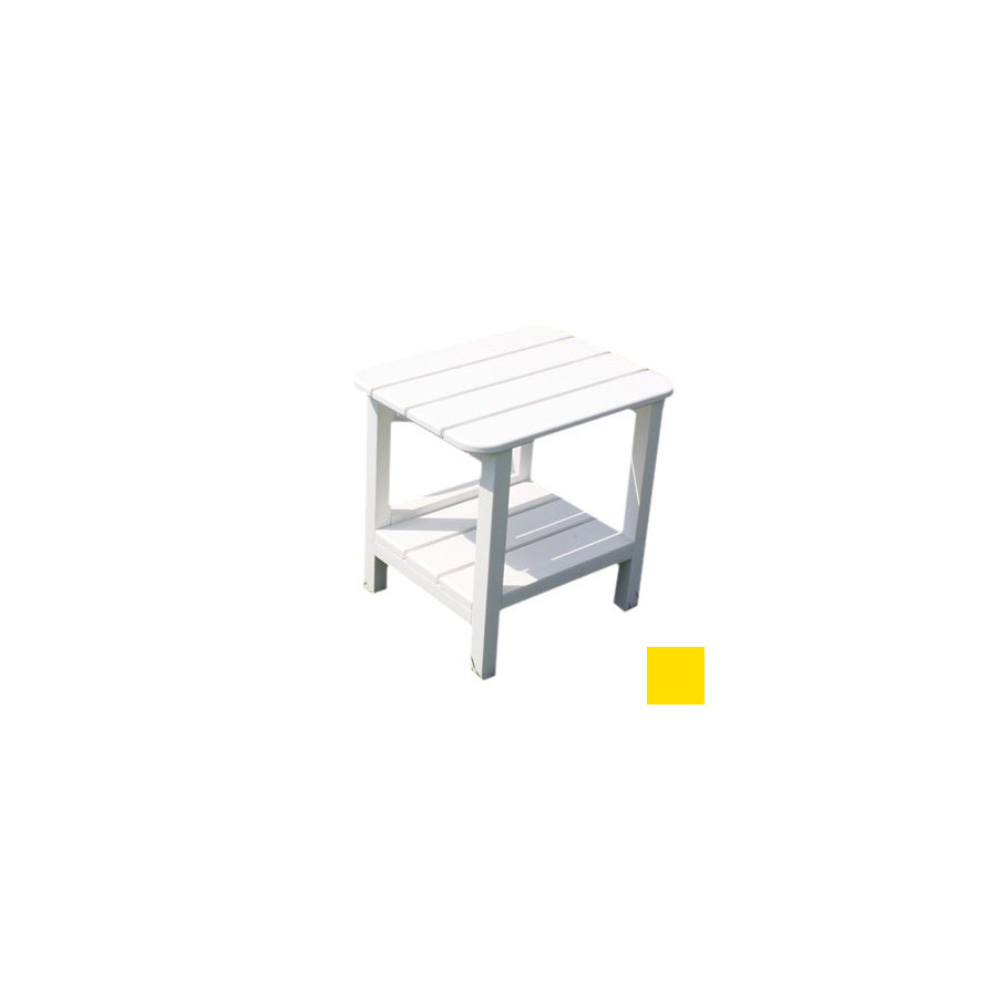 outdoor living yellow plastic square patio side table small desk for bedroom turquoise entry metal garden coffee crystal accent lamps nautical glass lamp end tables target dark