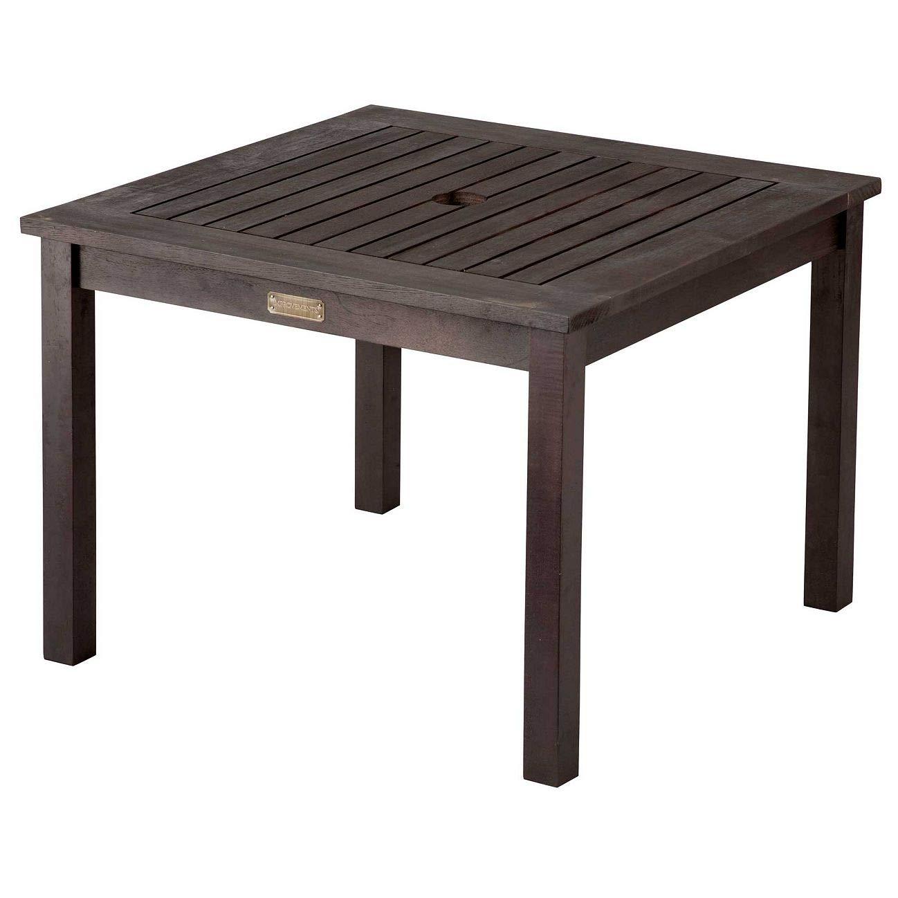 Outdoor Side Table Umbrella Grottepastenaecollepardo
