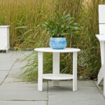 outdoor side table berkeley hillel green white marble coffee set ikea bedside carpet door plates wine bar furniture monarch specialties hall console winsome wood accent black 150x150