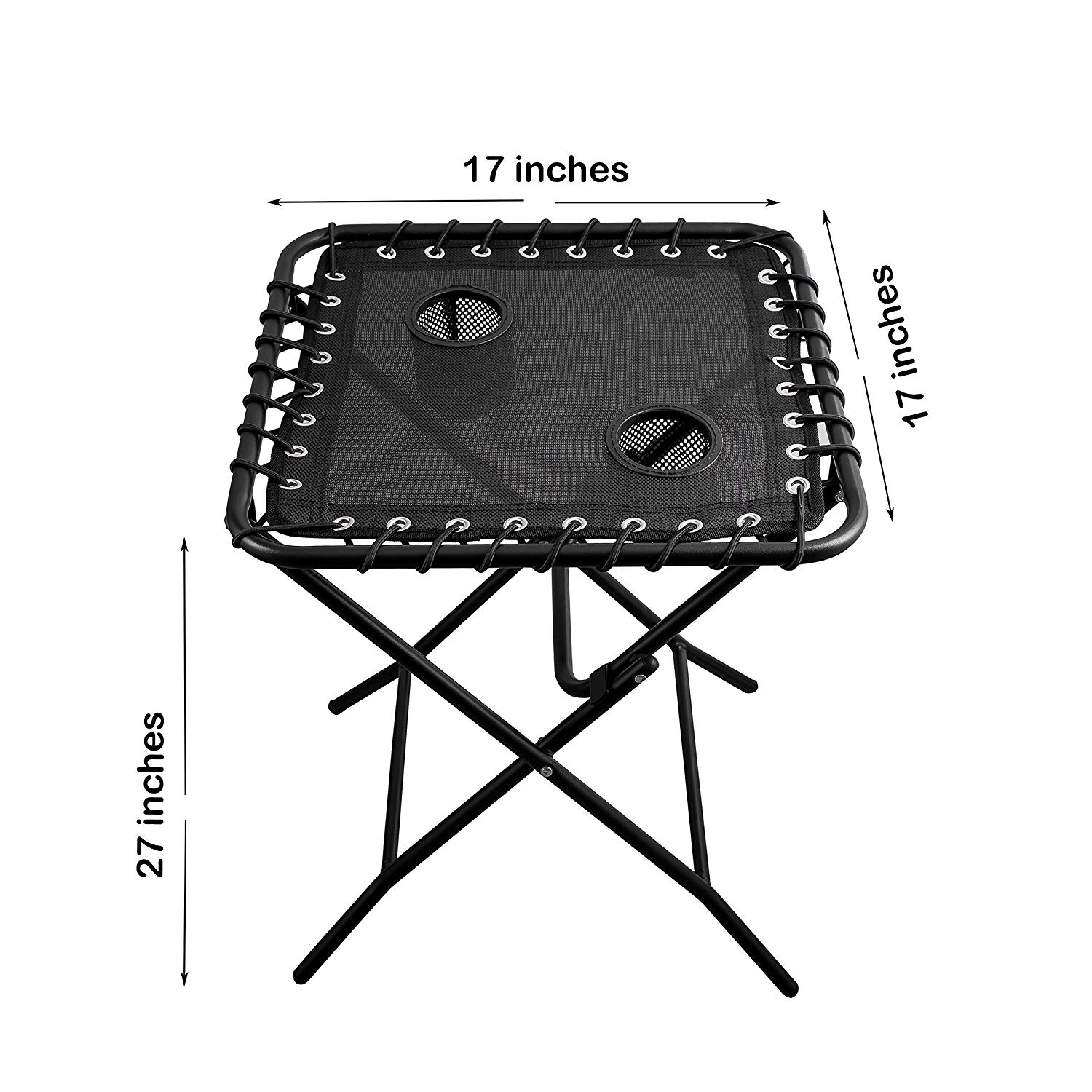 outdoor side table patio folding heavy duty coffee metal with cup holders for nic outdoors garden small battery operated accent lamps furniture couch runner quilt patterns new