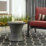 outdoor side table res diy plans mosaic tile wicker with umbrella white metal storage target hole pottery barn furniture west elm corner curio cabinet small accent lights windham 150x150