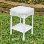 outdoor side table resin wicker steel maui backyard decor furniture nest tables with drawer office drawers tall thin lamps centre for drawing room black accent threshold round 150x150