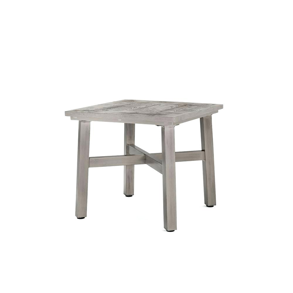 outdoor side table wood small mosaic with umbrella hole white wooden diy plans carsons furniture brass finish coffee circular cotton tablecloths farm style bench round pedestal