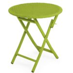outdoor side tables plowhearth folding patio accent table tangier wicker round bistro crystal chandelier lamps legs umbrella kenzie living room console with storage leg risers 150x150