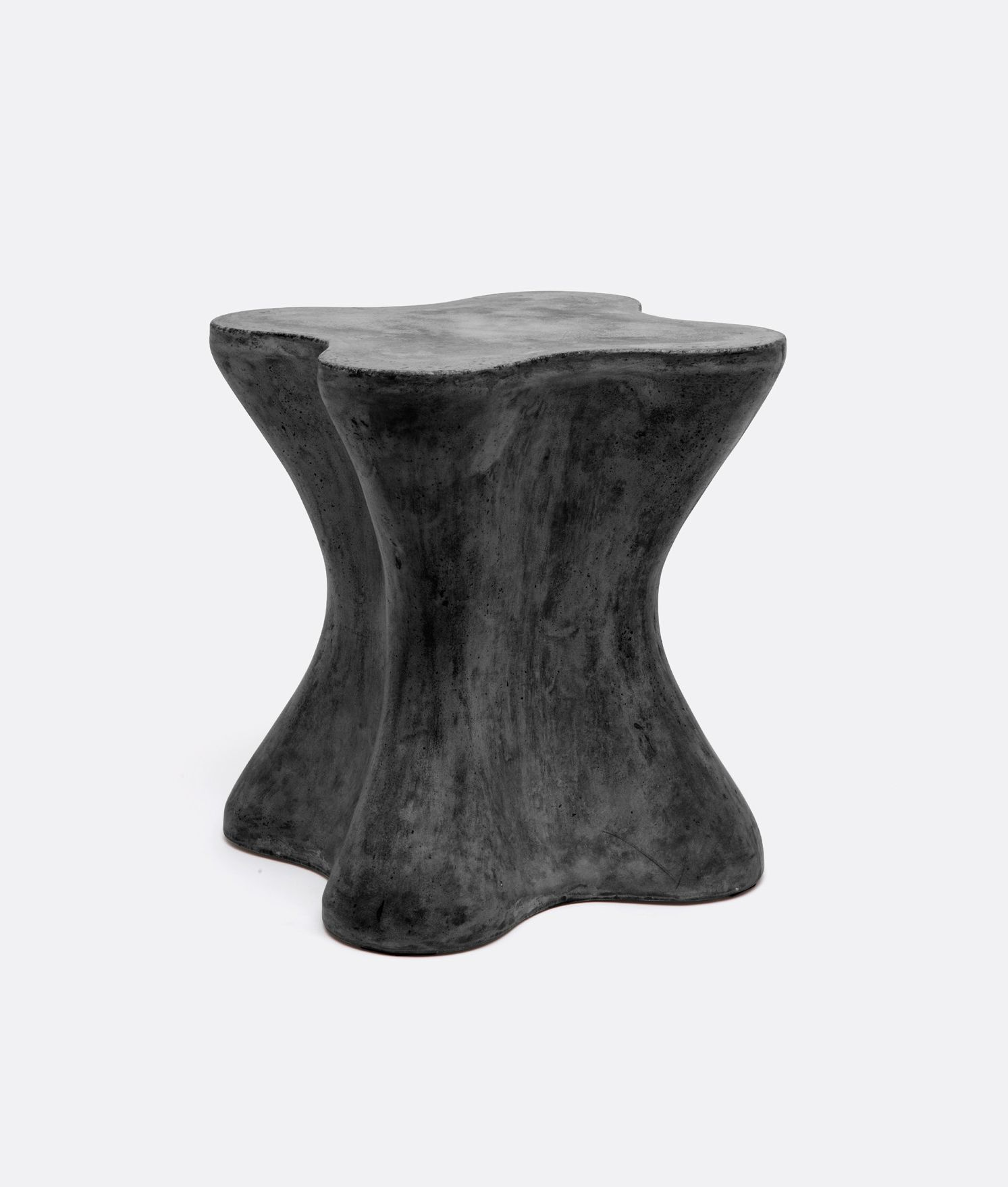 outdoor small arbre concrete side table furniture accent stool minor imperfections and cracks expected available dark grey black also large pier desk breakfast bar stools