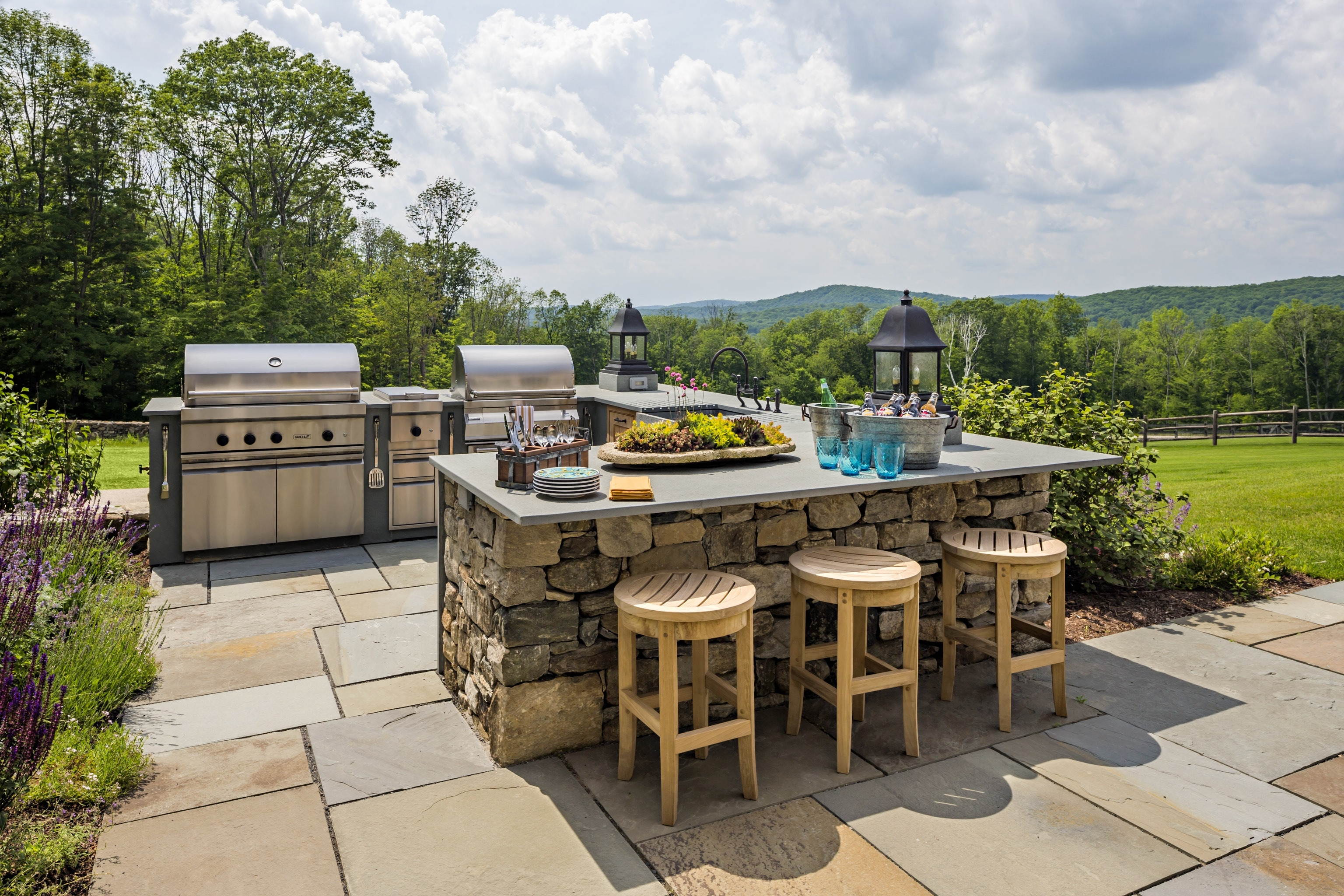 outdoor spaces perfect for barbecues inspiration dering hall haver skolnick architects portfolio exteriors middletown accent patio table narrow chairside loveseat clearance mid