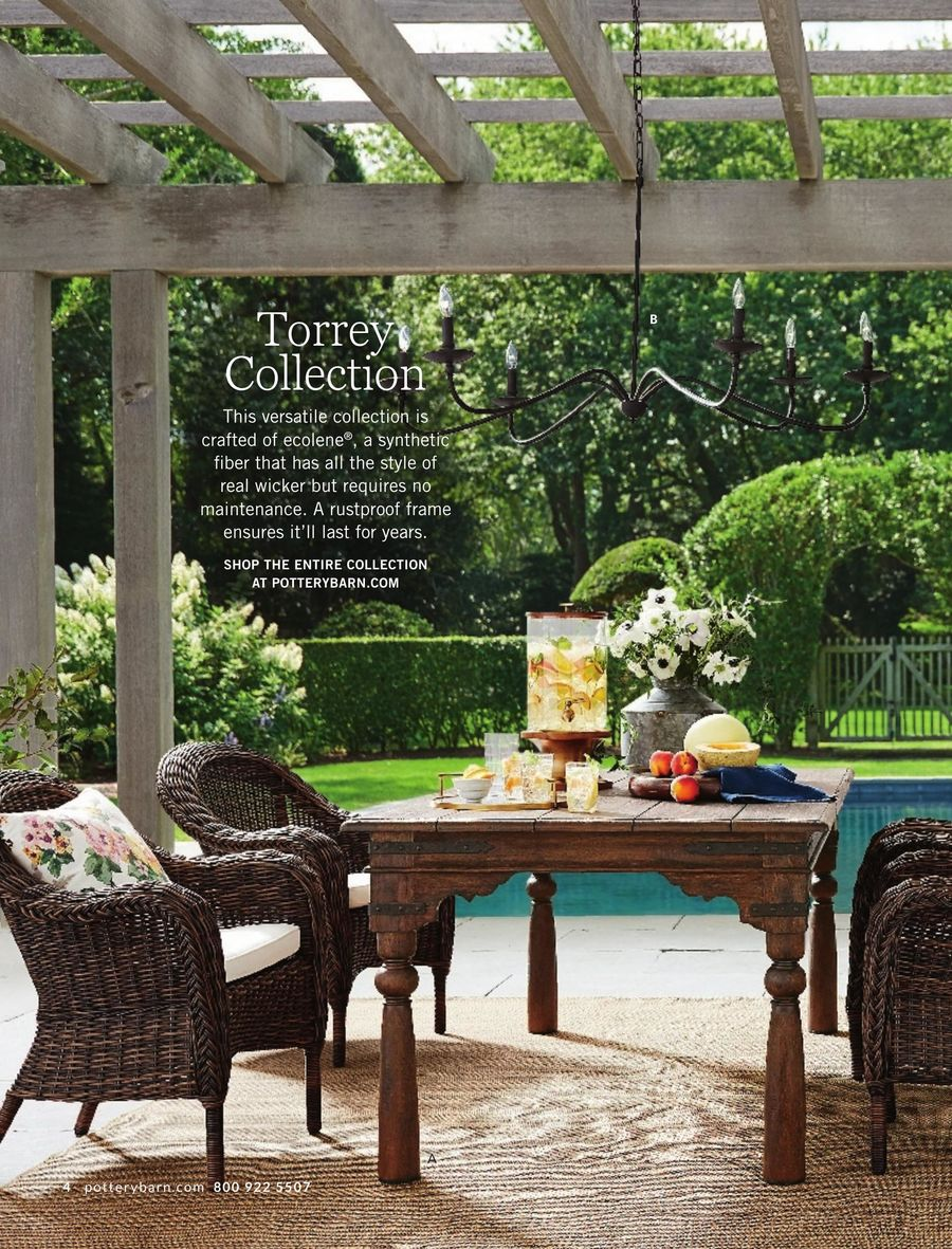 outdoor summer pottery barn frog drum accent table kitchen sideboard round coffee cover crystal lamps chairside end with power lawn furniture vanity tool cabinet galvanized metal