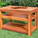 outdoor wood table with built grill storage forever redwood dsc side the ultimate bbq options coffee and end tables modern wooden designs small glass desk patio dining sets 150x150
