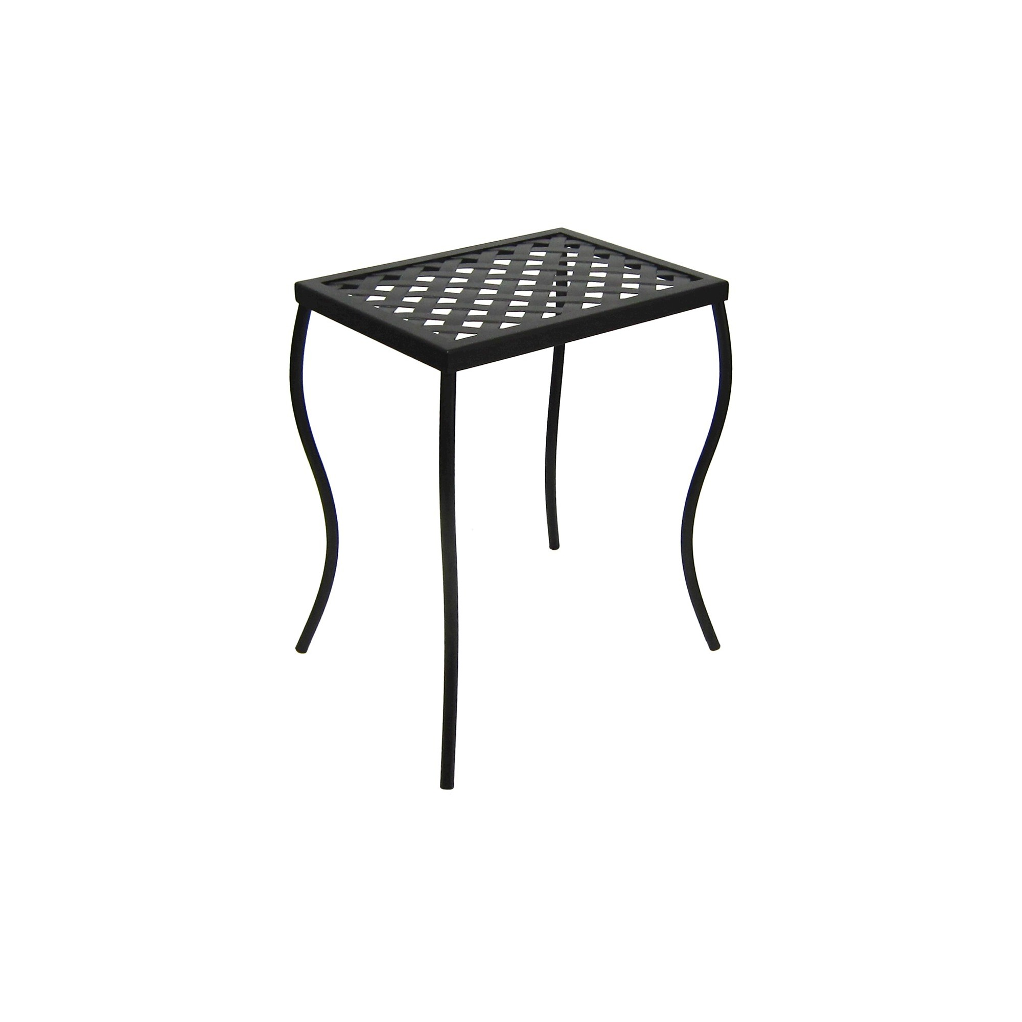 outdoor woven metal accent table threshold black products solar side design chrome unique home accessories wooden legs french bistro marble top diy square coffee junior drum stool