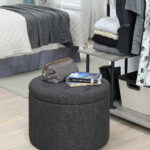 outstanding big round ott pouf crochet grey moroccan large filling leather knitted pillow tire canadian pattern outdoor talk target white cover pouffe diy insert fur threshold 150x150