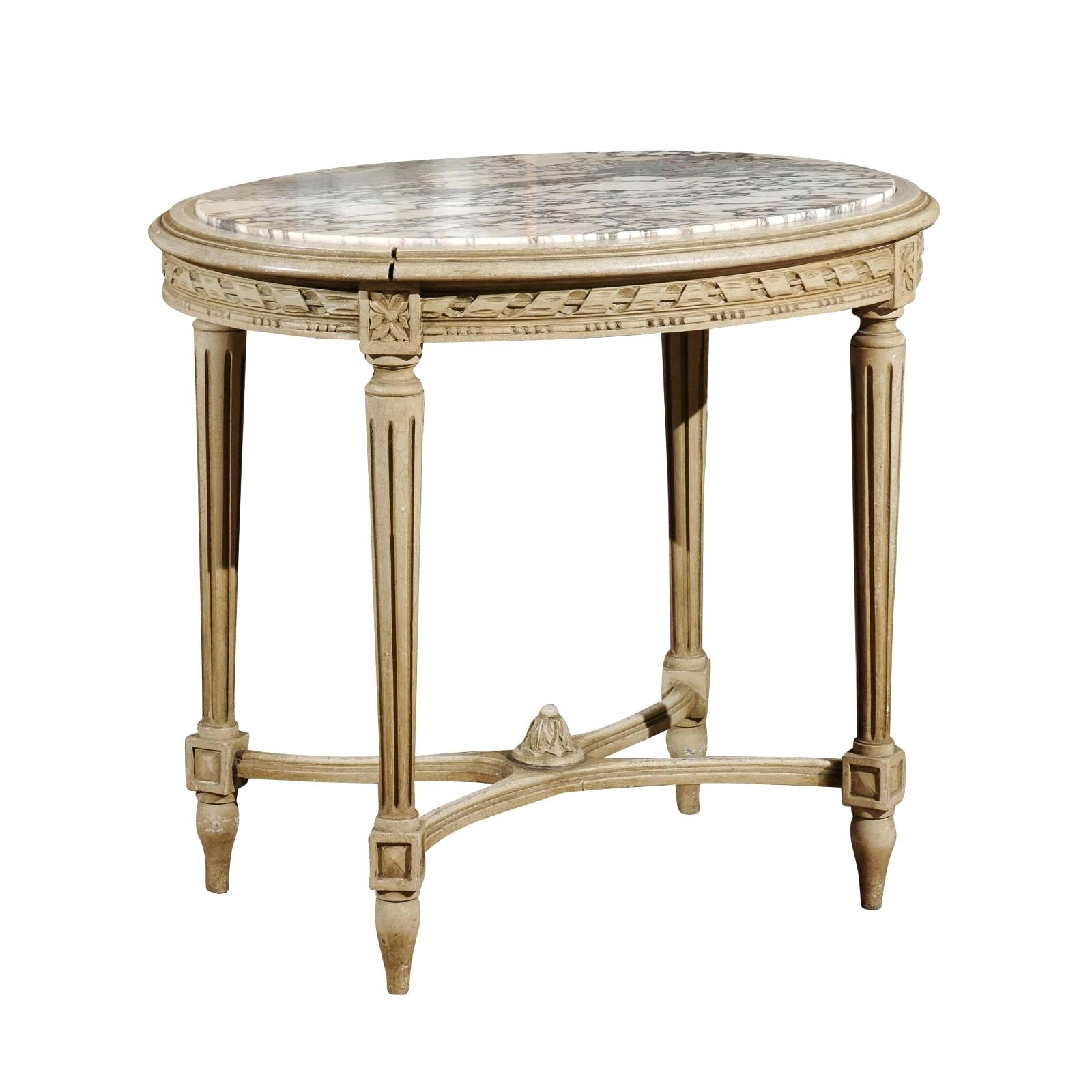 oval accent table vupad xvi style french with white veined marble top for small tables simplify pedestal rustic farm modern coffee ideas wood floor door threshold pier side target