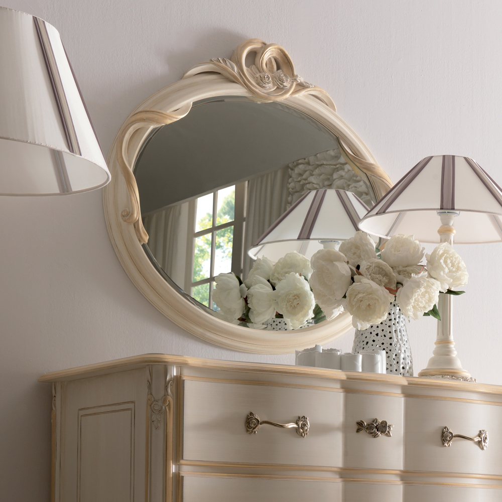 oval bathroom mirror available via the entire opulent italian swirl wall chawston accent table unique furniture small pedestal end little lamps pottery barn glass lamp drawer