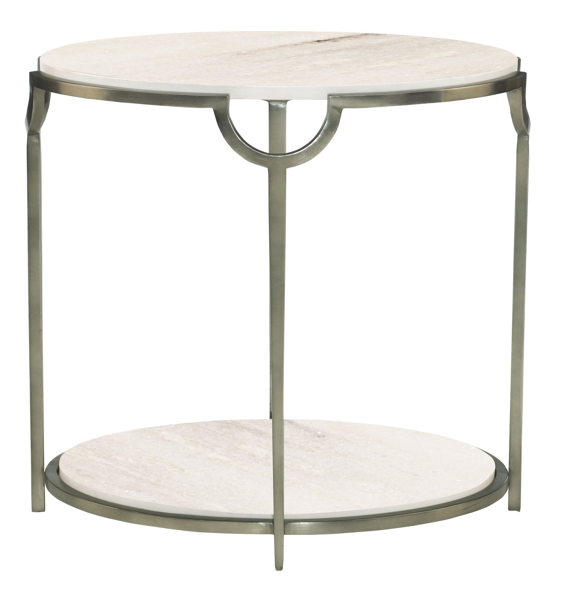oval metal end table bernhardt simplify accent marble dinner set squares linens modern lounge harveys bedroom furniture lighting lamps checkerboard decorative accessories for