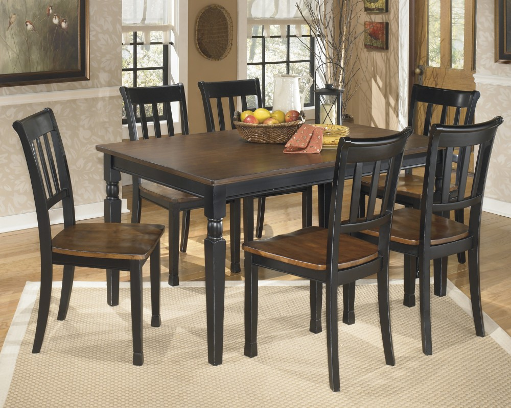 owingsville rectangular dining room table side chairs accent groups outdoor umbrella base weights essentials bedding solid wood threshold glass end tables screw furniture legs