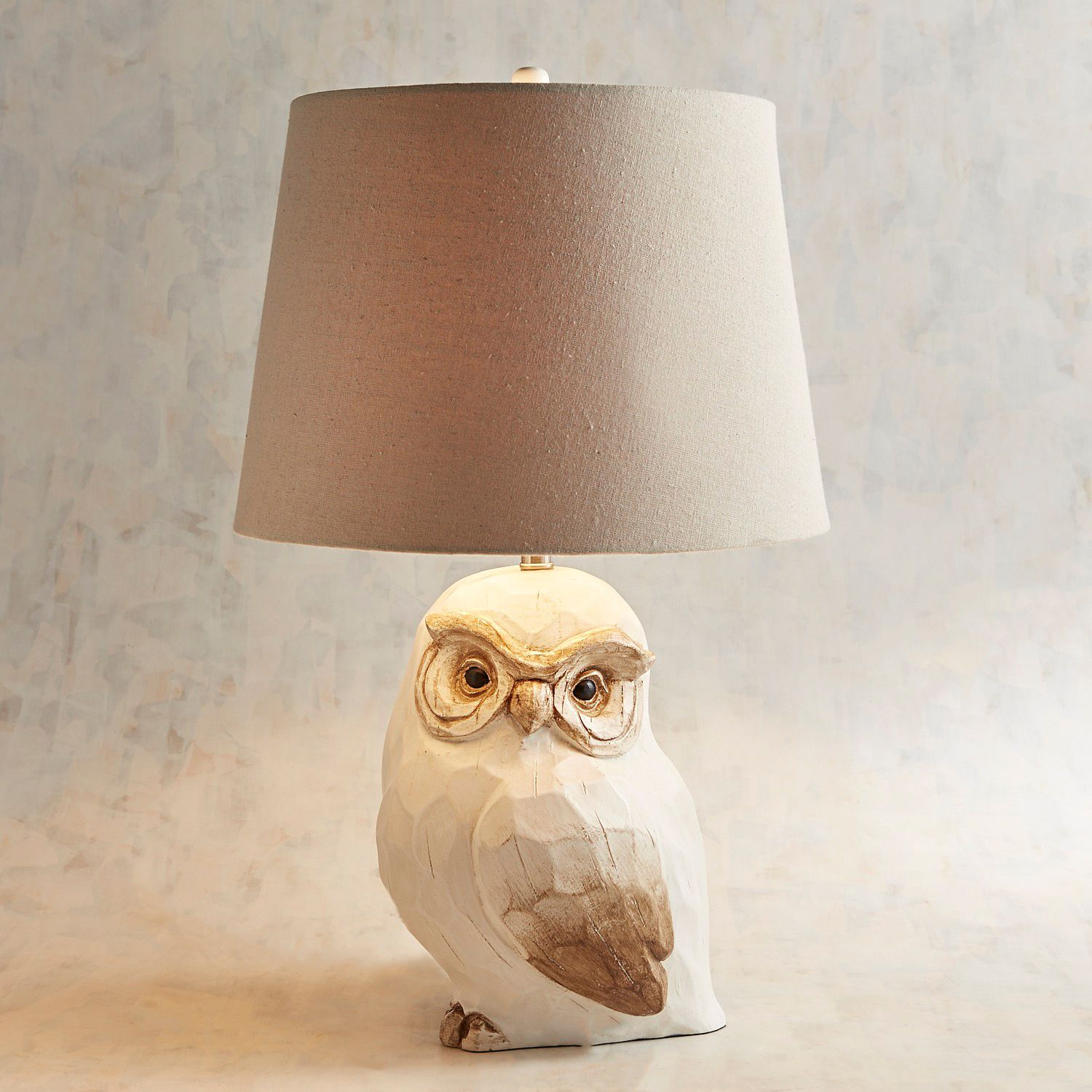 owl table lamp pier imports one accent lamps pool furniture marble pedestal coffee glass ikea storage baskets metal with drawers small square patio dining clearance silver console