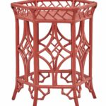 pagoda accent table red tomato kenian home custom color pink metal victorian occasional black cube side square bar chair cover factory silver coffee pier one nesting tables narrow 150x150