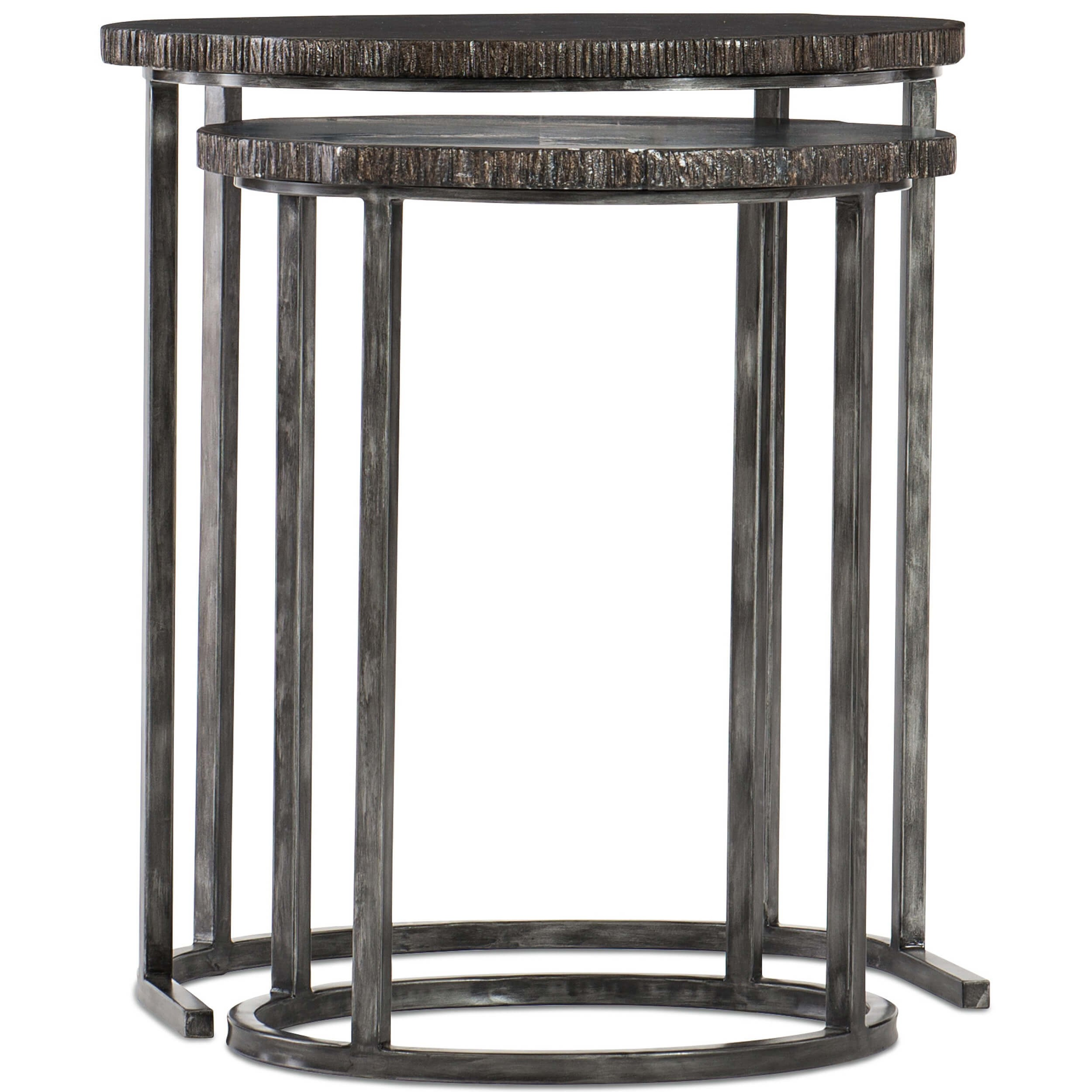 painted petrified wood nesting tables grow your social circle accent table furniture end small large bedside inch round plastic tablecloths mirrored homesense dining chairs diy