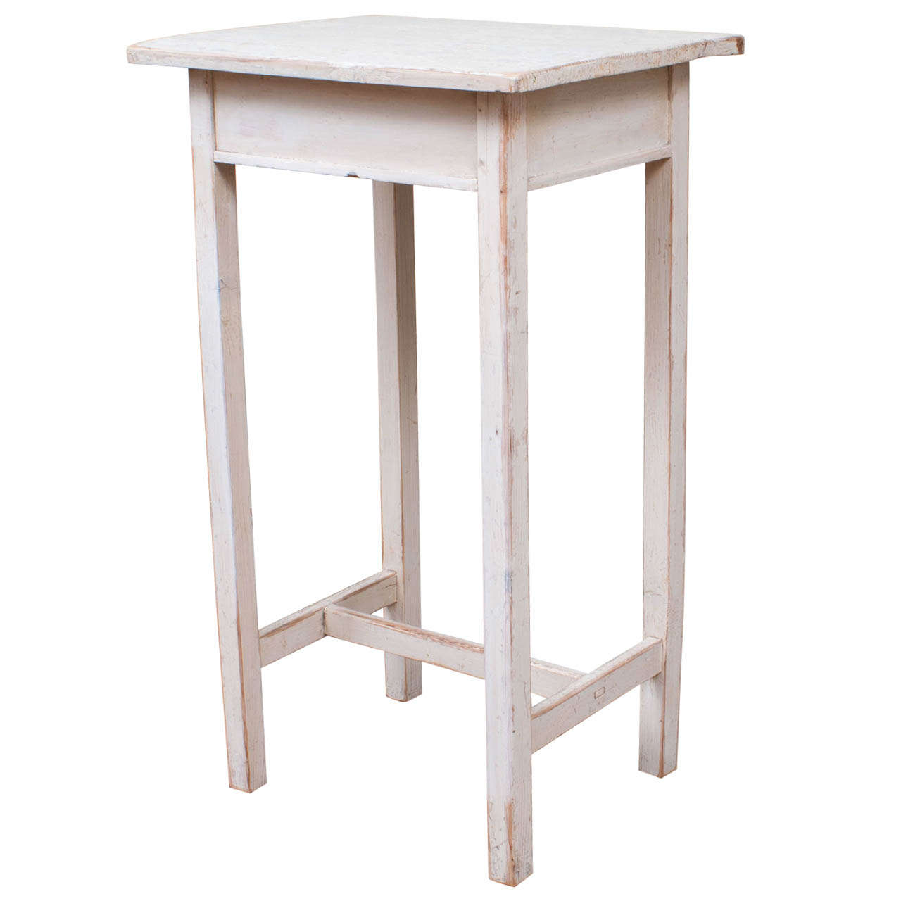 painted pine end table ashley furniture accent tables small teal cabinet blanket box ikea safavieh couture white console coffee legs stainless steel kitchen cart corner dining set