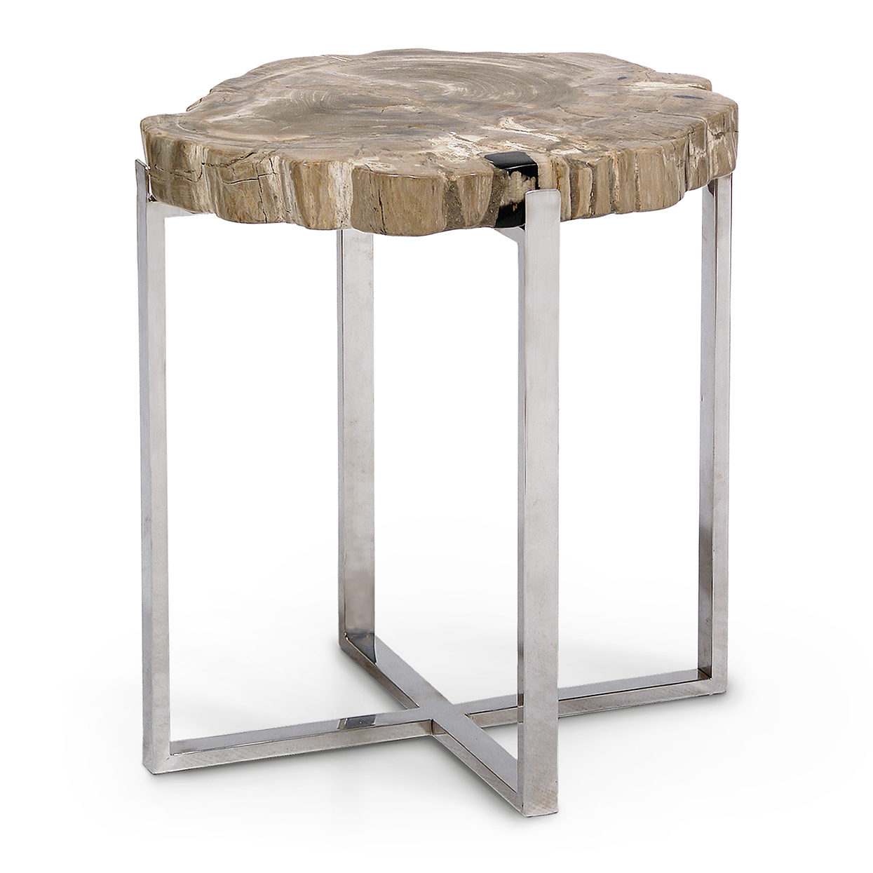 palecek faux wood accent table sliced petrified large round kitchen seagrass coffee tablecloth protector shelf contemporary end tables height tall thin target chalk paint nate