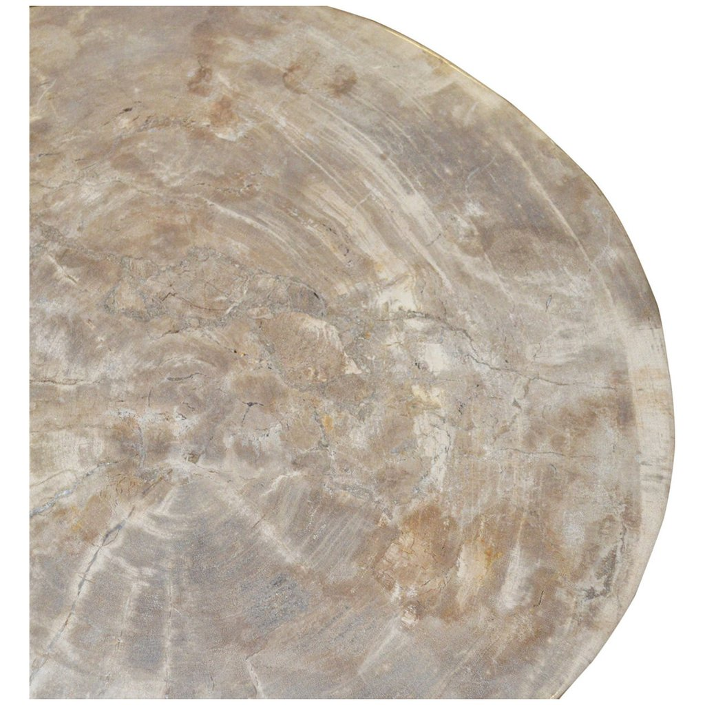 palecek sliced petrified wood table accent tables benjamin rugs natural small metal patio decorative nautical lanterns pier one outdoor furniture lounge setting bedside and