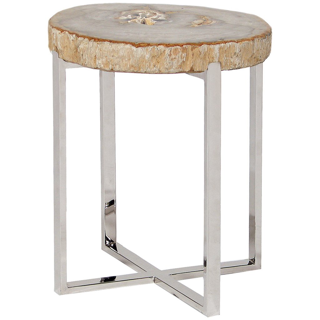 palecek sliced petrified wood table accent tables benjamin rugs small next white and brown side bronze glass lighting seattle coffee with gold accents vintage retro dining chairs