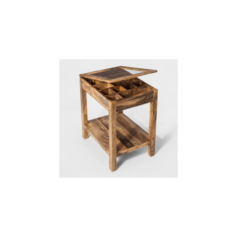 pallet pcs living room office customer returns essentials threshold decor owings accent table auction glass tables toronto acrylic side ikea small foldable target console pier one