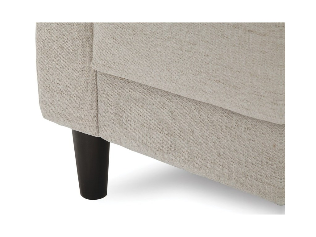 palliser freya contemporary sofa with track arms dunk products color intrigue pearl round accent table freyasofa brown marble concrete coffee modern dining room sets wooden