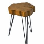 palm tree end table buzzard rustic crosscut pedestal accent quickview white coffee and sets unique patio furniture small black metal side plants green target gold bar cart 150x150