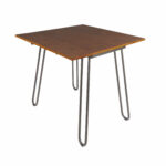 parikh drop leaf dining table with hairpin legs reviews leg accent vintage nautical lights thin side wood and glass coffee front porch chairs large concrete antique circular half 150x150