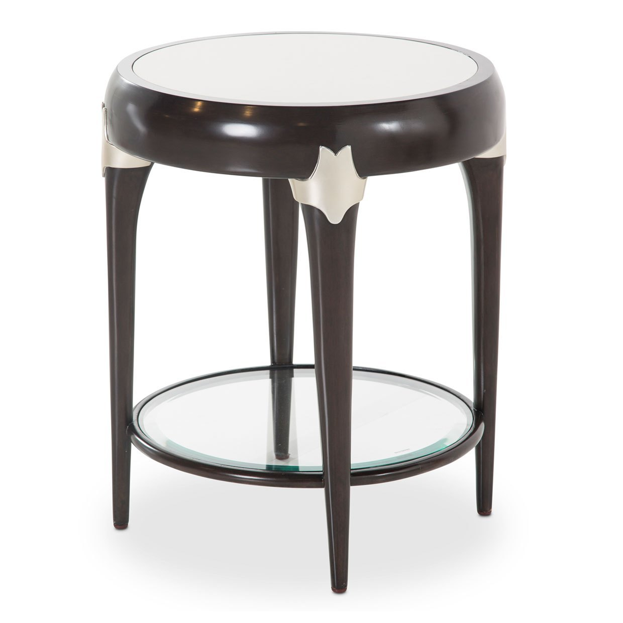 paris chic round accent table espresso finish usa furniture bedroom packages knobs and handles garden with umbrella bedside ideas tennis rubber outdoor patio lights ashley desk