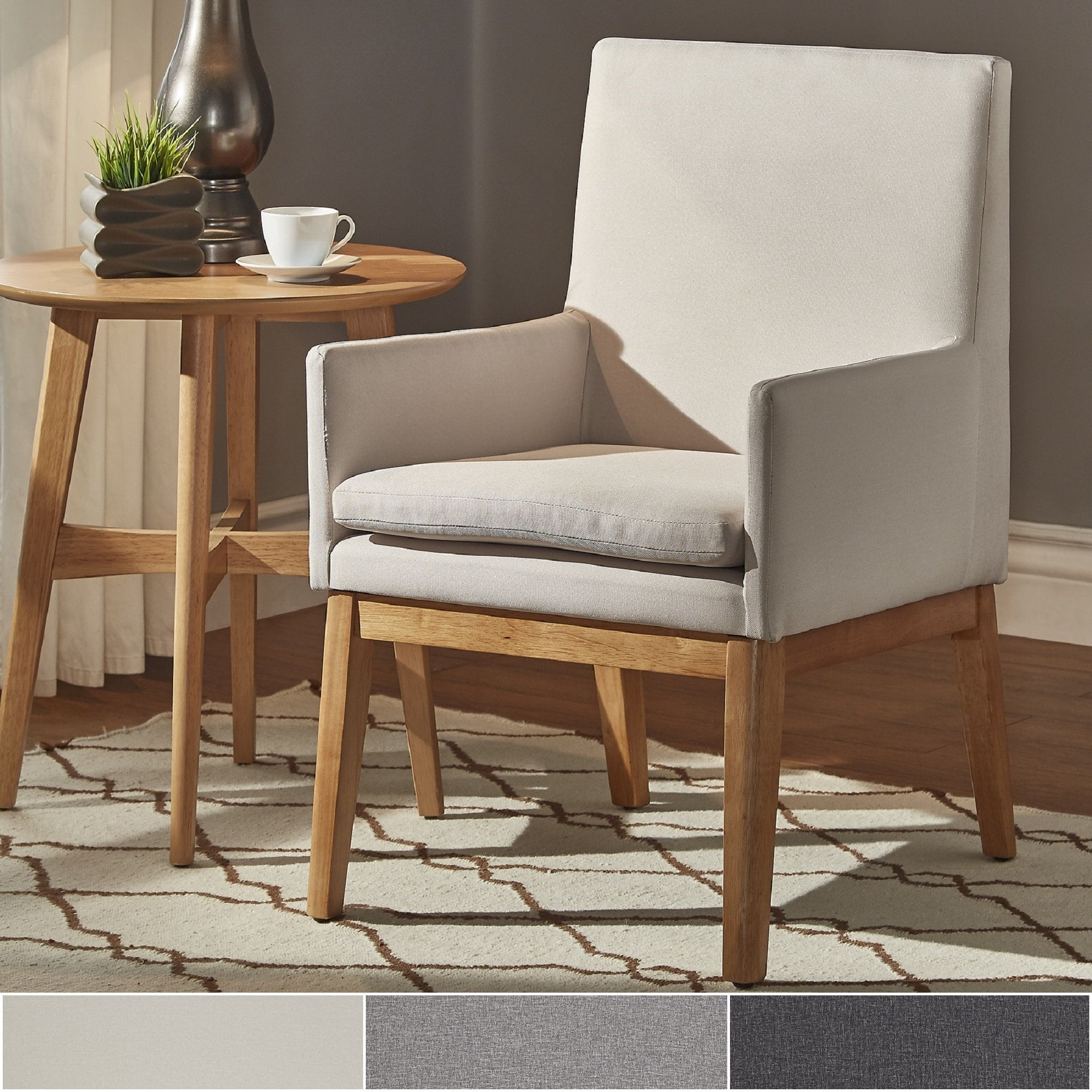 parker mid century light oak accent chairs set inspire modern tables free shipping today concrete patio table round end tall metal coffee design ideas furniture cushions clearance