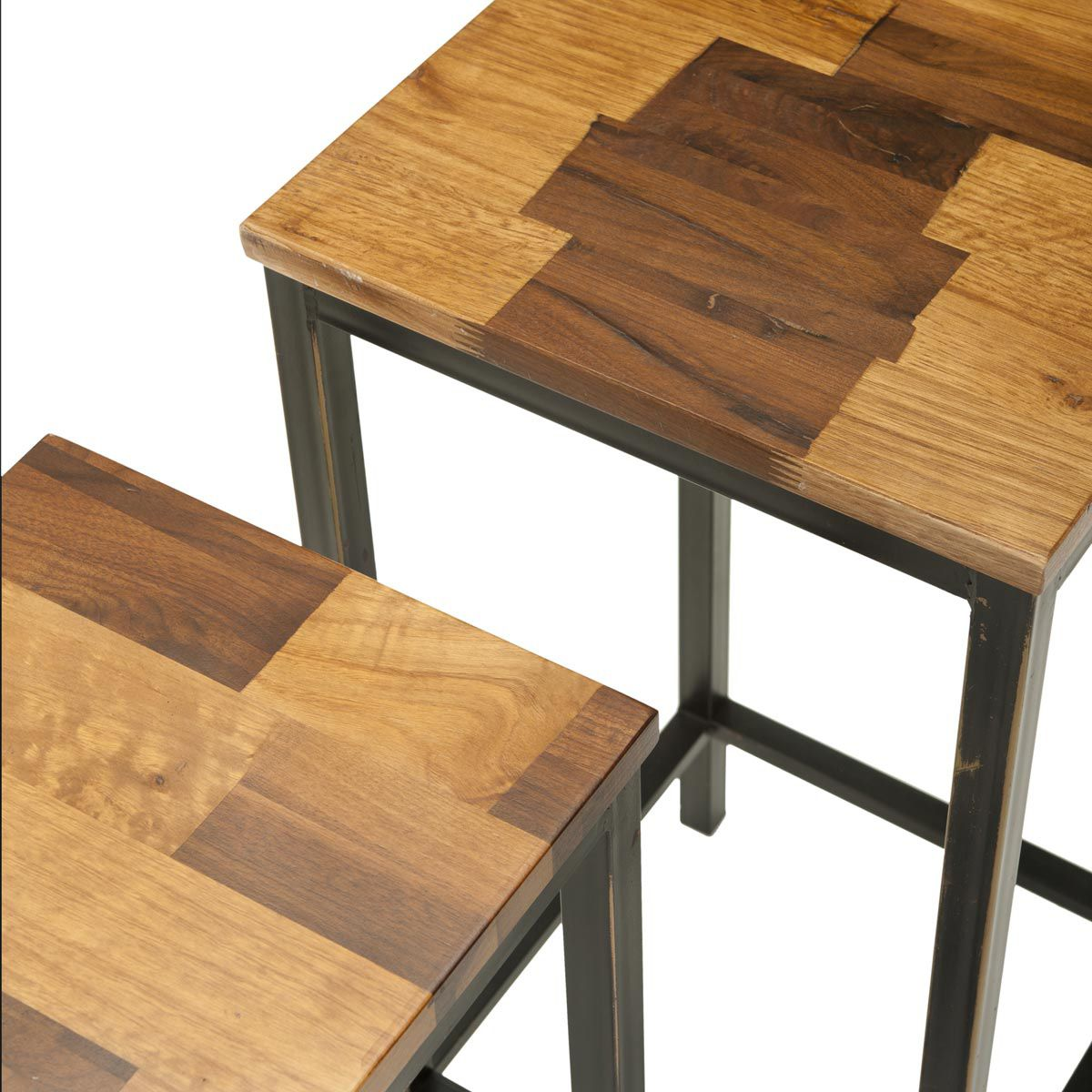 parquet nesting tables set dotandbo style accent table target dot furniture and decor for the modern lifestyle tablesnesting contemporary edmonton pier dining chairs low side