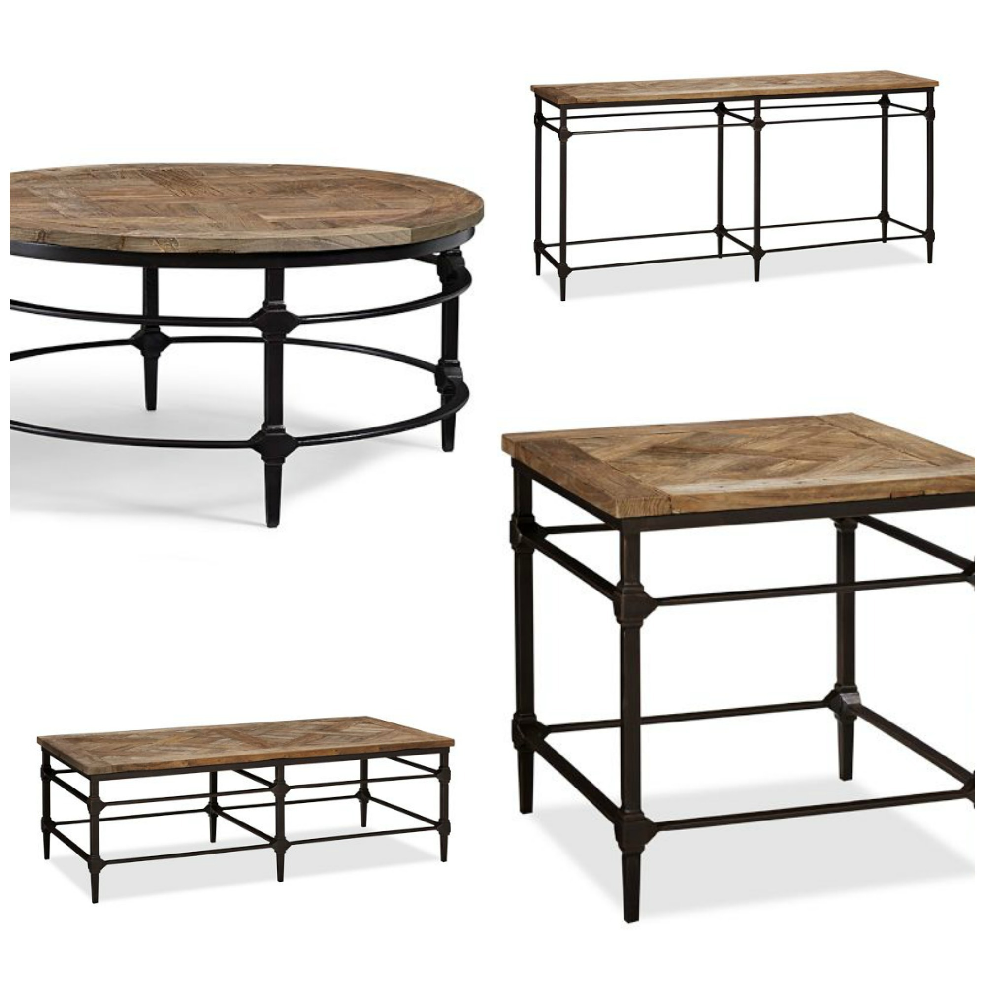 parquet reclaimed wood console table pottery barn category archive for accent tables decor look alikes collection knock off furniture brass coffee small kitchen and end wicker