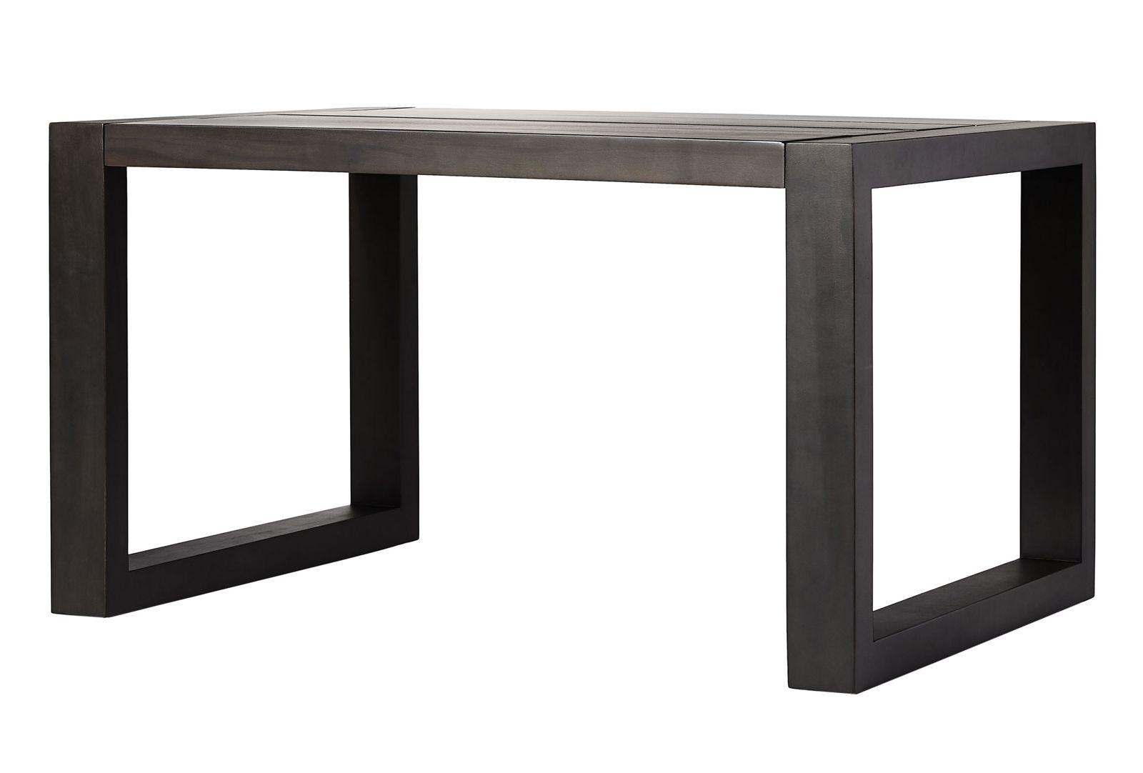 parson accent outdoor table modloft modern tables cressina dark eucalyptus furniture decorative cabinets for living room quatrefoil decor square thanksgiving tablecloth bedroom