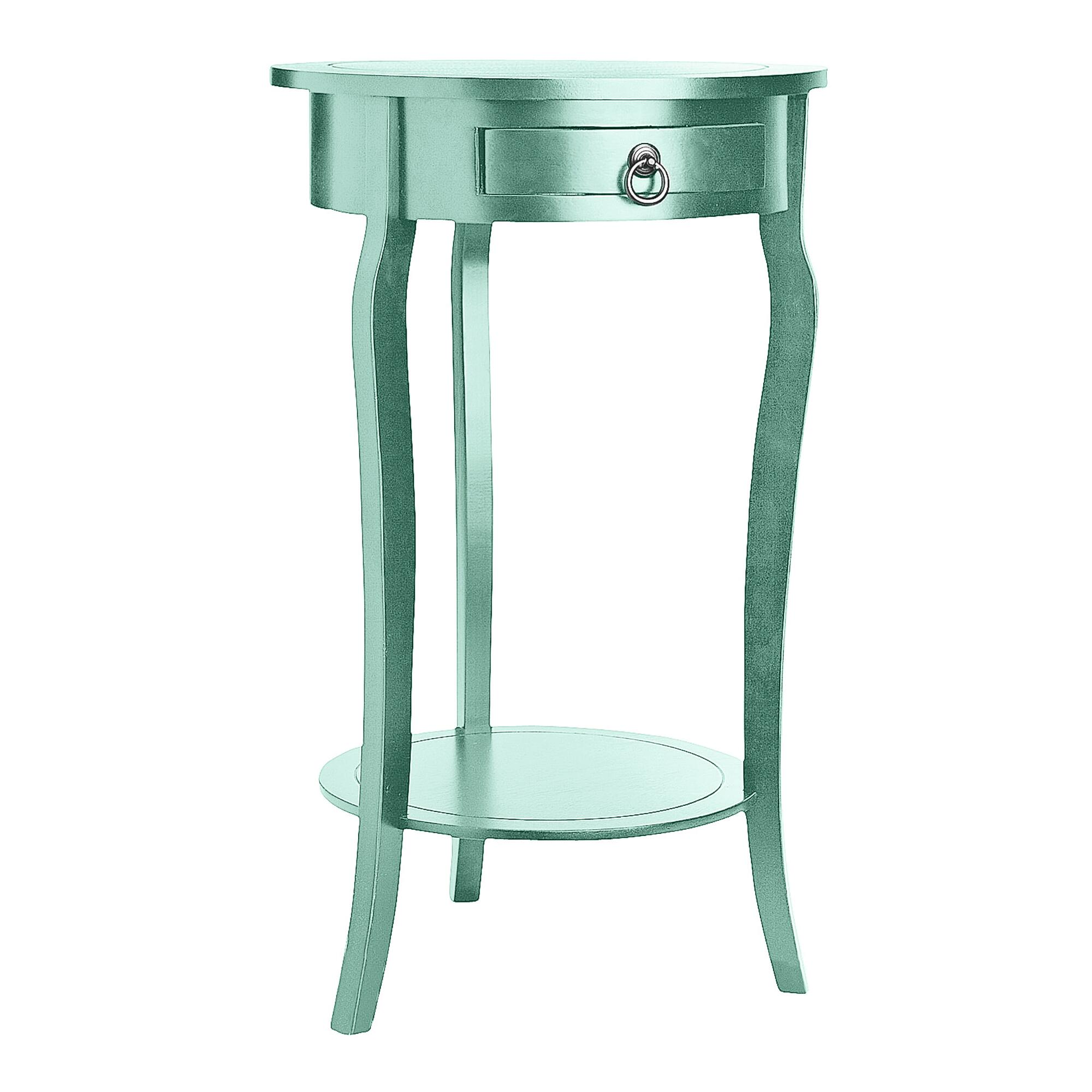 parsons side table navy blue bungalow wine rack accent tables with curvy legs interior decorating simplify pedestal rattan garden furniture covers rose gold target threshold patio