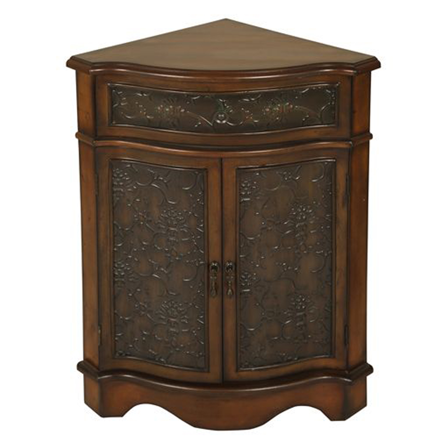 passport mario walnut corner cabinet bellacor accent table with drawers and doors hover zoom mid century modern sofa pub garden furniture freya round nautical light fixtures side