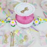 pastel unicorn birthday party accent table sparkle centerpiece home goods patio furniture solid oak lamp bistro nautical inspired lighting hardwood threshold outdoor dining covers 150x150