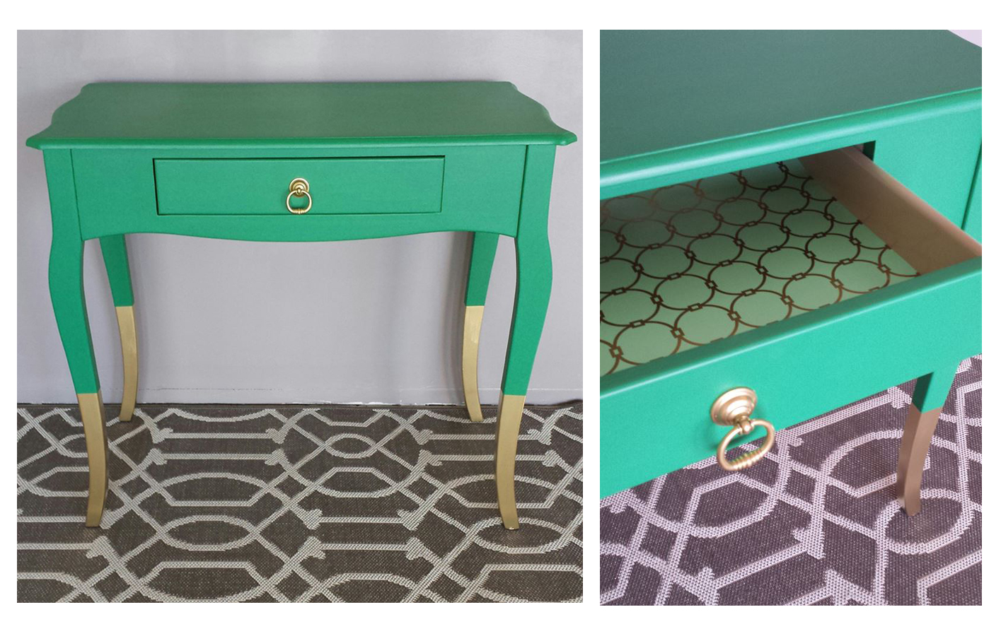 patina green page general finishes design center scd greens tara soul end table emerald coastal blue milk paint accent custom mixed white top coffee with umbrella hole small