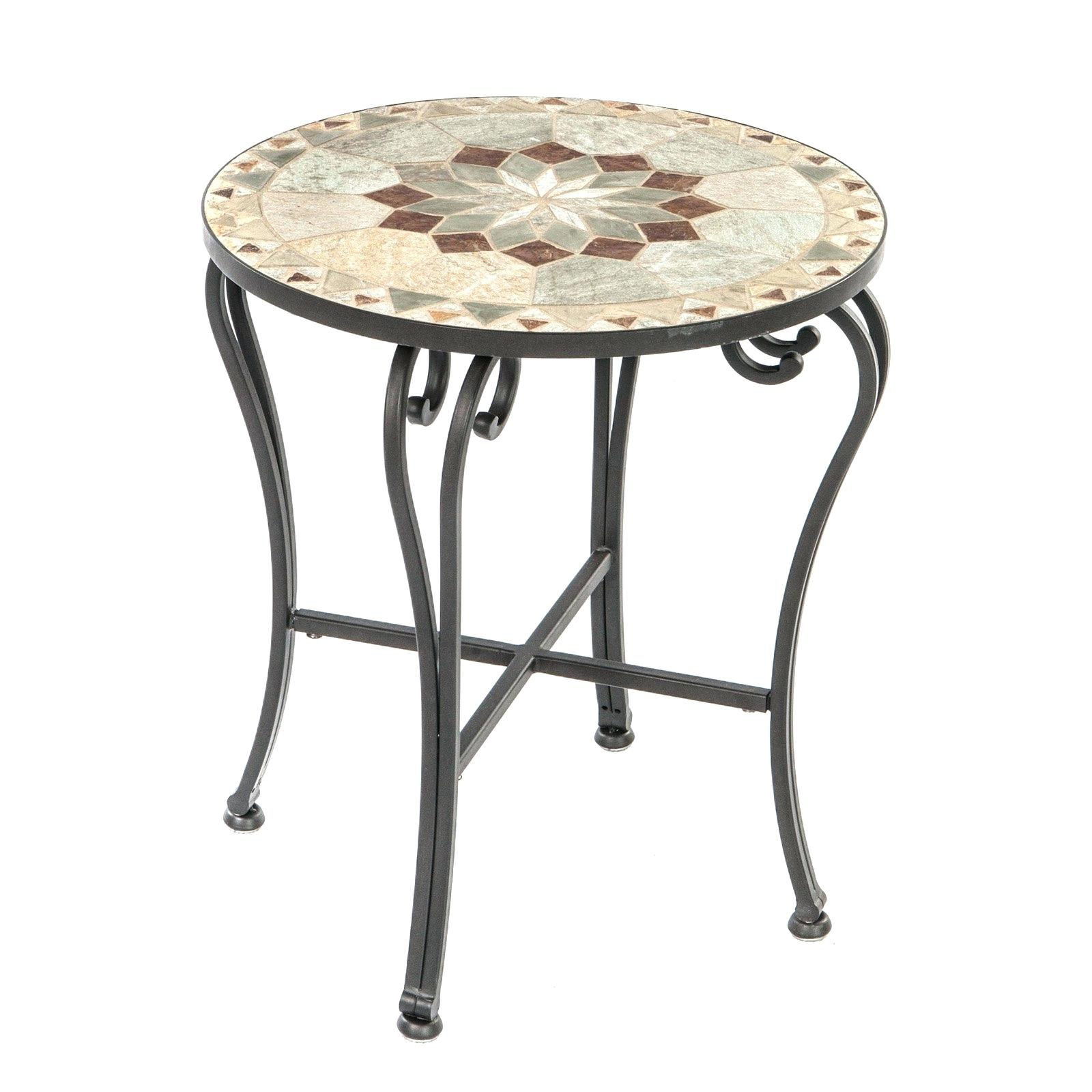 patio accent tables dame mosaic side table jcpenney quilts gooseneck lamp reclaimed wood sofa metal home decor antique style nite stands furniture round tiffany glassware led